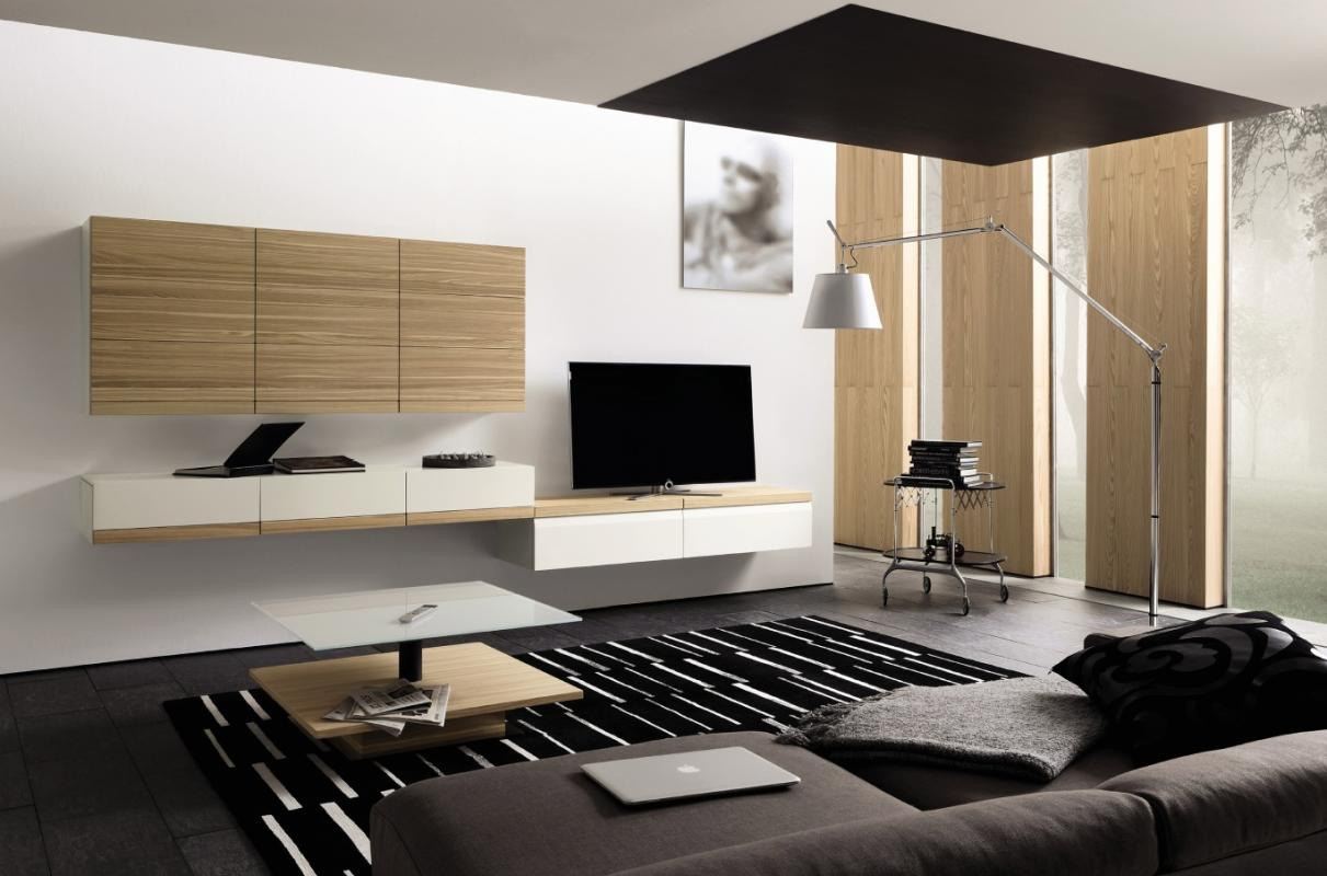 Modern Wall Tv Cabinet Design : J home design modern tv wall cabinet ideas